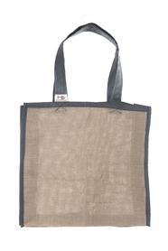 """Ekologiczna torba na zakupy """"handmade"""" -  jutowa"""
