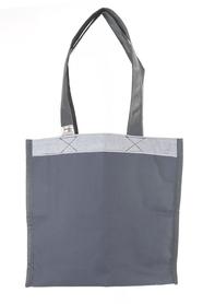 """Ekologiczna torba na zakupy """"handmade"""" -  grafitowa"""