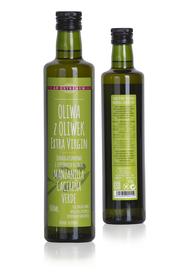 Jednogatunkowa oliwa z oliwek Extra Virgin 100% Manzanilla Cacereña 500ml