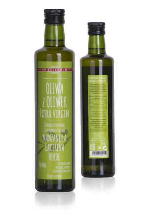 Jednogatunkowa oliwa z oliwek Extra Virgin 100% Manzanilla Cacereña 500ml (1)