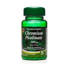 Pikolinian Chromu 200 µg 100 Tabletek