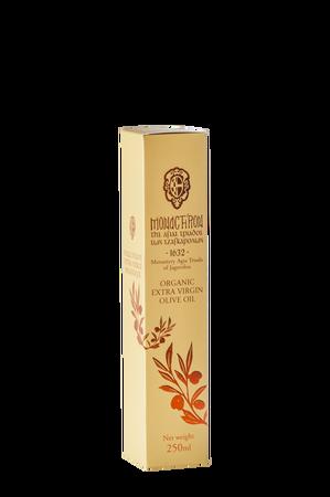 Bio extra virign oliwa z oliwek z Monastyru Agia Triada (Kreta) – 250 ml (ozdobne opakowanie) (1)