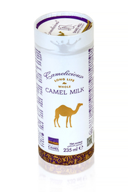 #02 Mleko wielbłądzie z Dubaju marki Camelicious – pasteryzowane 235ml
