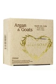 Naturalne arganowe masło do ciała Argan & Goats 200ml