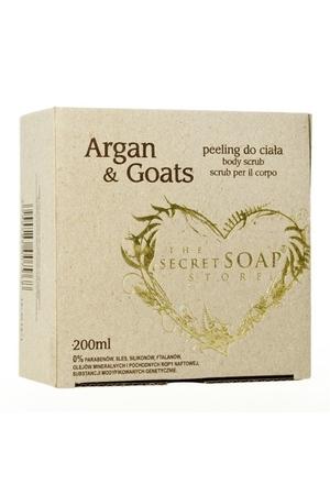 Regeneracyjny i odżywczy peeling do ciała Argan i Goats 200ml (1)