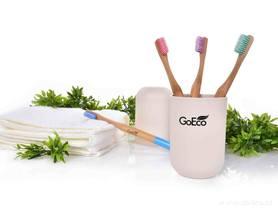 Szczoteczka do zębów GoEco® BAMBOO, z bambusa