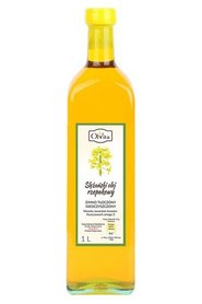 Ślężański olej rzepakowy zimno tłoczony nieoczyszczony 1L Ol'Vita