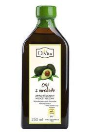 Olej z awokado zimno tłoczony nieoczyszczony 250 ml Ol'Vita