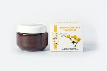 Peeling/maseczka z nasion wiesiołka 100 g Ol'Vita (1)