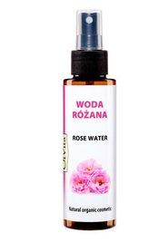 Woda kwiatowa różana, organiczna, hydrolat 100 ml