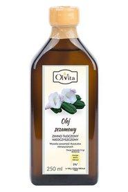 Olej Sezamowy - zimnotłoczony nieoczyszczony Ol'Vita 250 ml