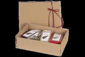 Zestaw upominkowy - 4 Prozdrowotne mieszanki ziołowe