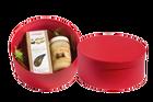 Zestaw upominkowy - Miód rzepakowy 400 g oraz mieszanka ziołowa na stawy w ozdobnym kartoniku  (1)