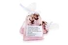 Zestaw upominkowy Relaks #3 - Sól do kąpieli z płatkami roży, sól do kąpieli z kwiatem lawendy, mydło naturalne z białą glinką (2)