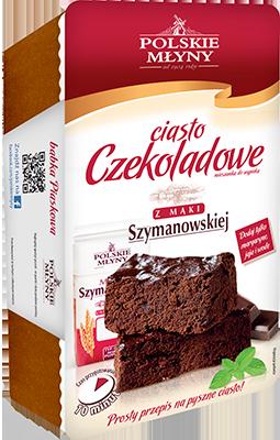 Ciasto czekoladowe - Mieszanka do wypieku POLSKIE MŁYNY - 270 g