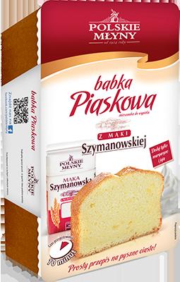 Ciasto Babka piaskowa - Mieszanka do wypieku POLSKIE MŁYNY 290 g