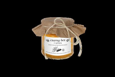 Syrop domowy z kwiatów czarnego bzu 130 ml (1)