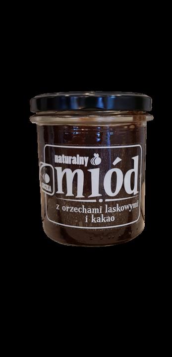 Miód z orzechami laskowymi i kakao 350 g (1)