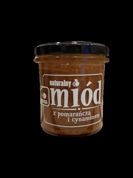 Miód z pomarańczą i cynamonem 350 g (1)
