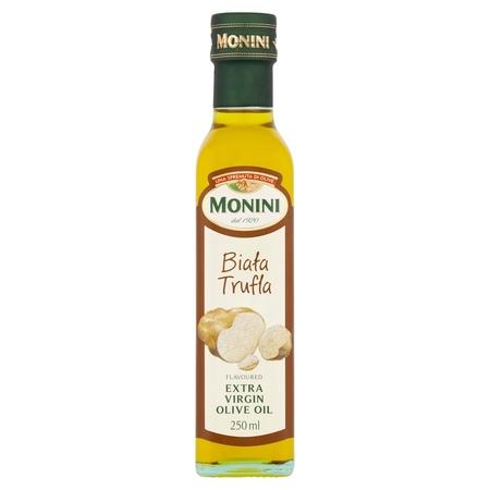 MONINI BIAŁA TRUFLA - Aromatyzowana Oliwa z Oliwek Extra Vergine 250 ml (1)