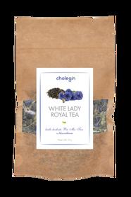 019 Cholegin - White Lady Biała herbata Pai Mu Tan z chabrem bławatkiem