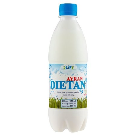 Ayran Kwaśny Napój Turecki 500 ml (1)