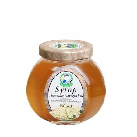 Syrop z kwiatów czarnego bzu 150 ml (1)