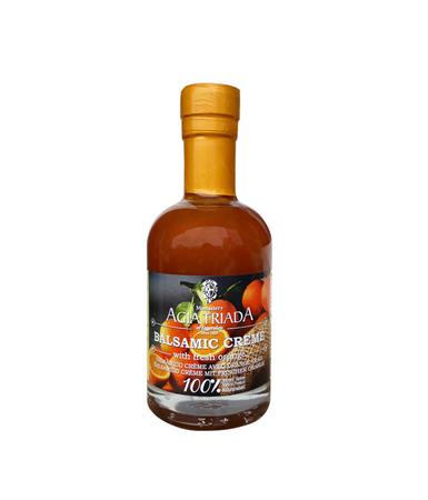 Ocet Balsamiczny Kremowy Świeża Pomarańcza 200 ml  (1)