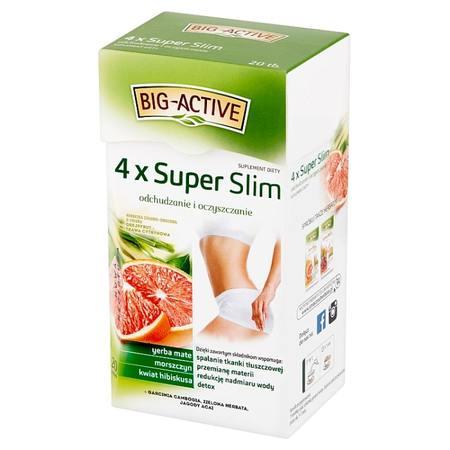 Big-Active - 4 x Super Slim (suplement diety) (1)