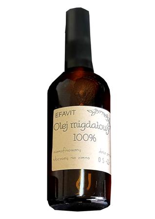Olej Migdałowy Kosmetyczny Zimnotłoczony Efavit 30 ml (1)