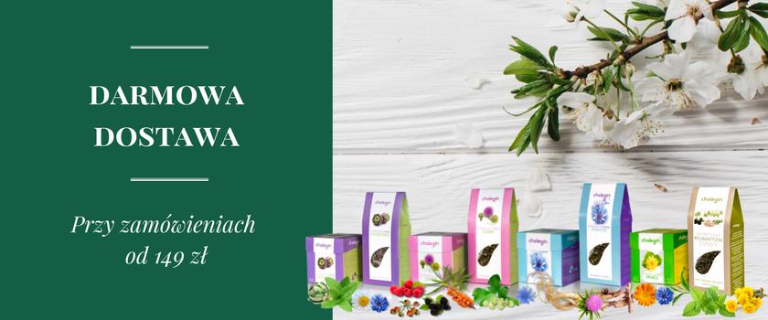 Mieszanki ziołowe i herbaty